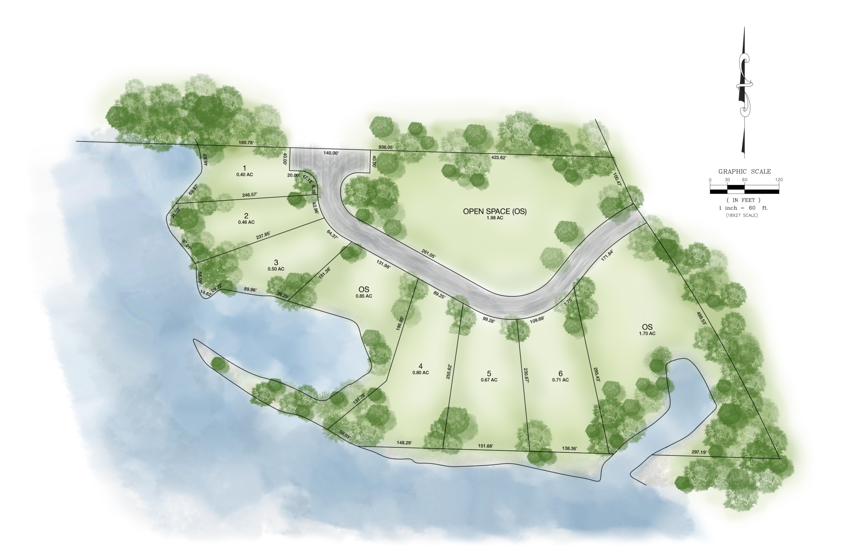 LakeFront Site Map